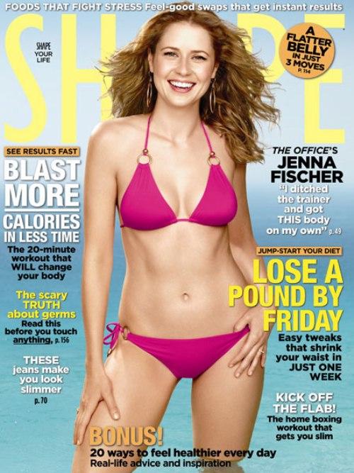 Jenna-Fischer-Poses-in-a-Bikini-for-Shape