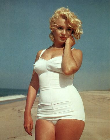 Marilyn-Monroe-hourglass-figure